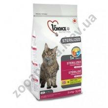 1-st Choice Sterilized - корм Фест Чойс для стерилизованных кошек