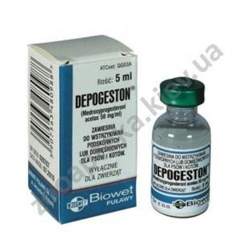 Bioveta Depogeston - препарат для регуляции половой активности Депогестон