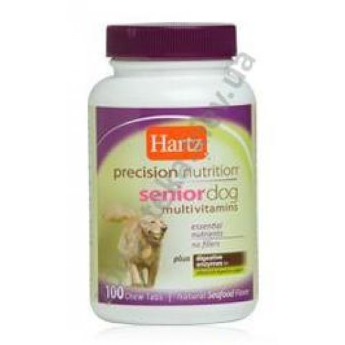 Hartz Senior Dog MultivitamIns - мультивитамины Хартц для собак старше 7 лет