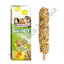 Versele-Laga Crispy Sticks CitrusFruit - лакомство Версель-Лага Цитрус для шиншилл, свинок