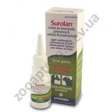Janssen Pharmaceutica Surolan - препарат Янсен Фармацефтика Суролан