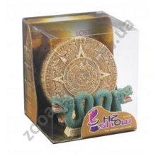 Hydor H2Show - декор Хайдор потеряная цивилизация, календарь майя + змей