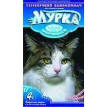 Мурка - синий наполнитель для кошачьего туалета комкующийся средний с лавандой