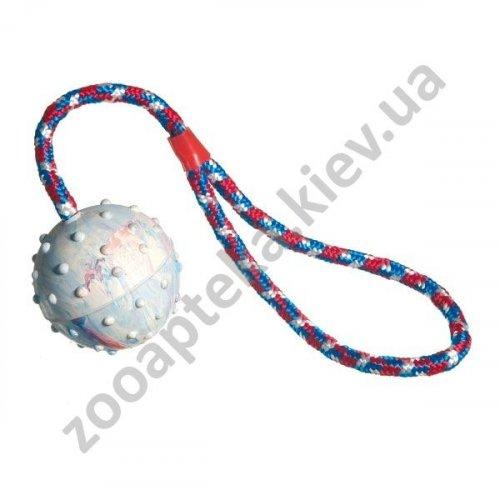 Camon - игрушка для собак Камон мяч резиновый с шипами на канате