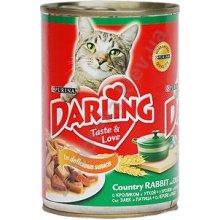 Darling - Корм Дарлинг корм для котов с кроликом и уткой в соусе