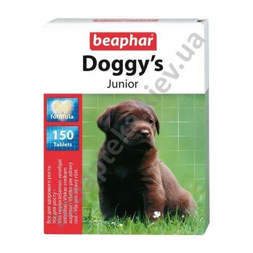 Beaphar Doggy`s Junior - комплекс Бифар Витамино-минеральный для щенков