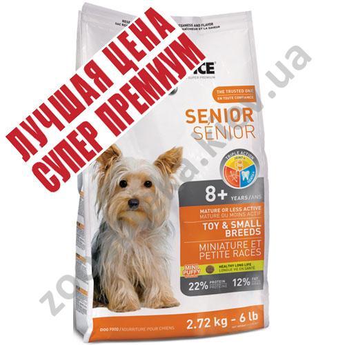 1-st Choice Senior Mini and Small Breed - корм Фест Чойс для пожилых собак мелких пород