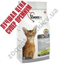 1-st Choice - корм Фест Чойс гипоаллергенный с уткой для кошек