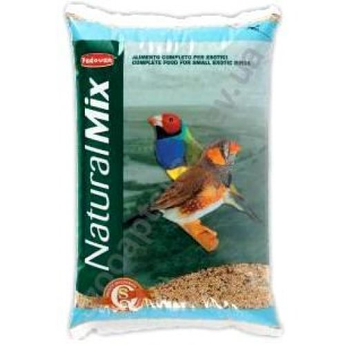 Padovan NaturalMix Esotici - основной корм Падованг для экзотических птиц