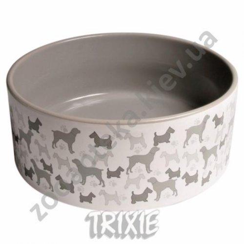 Trixie - керамическая миска Трикси для собак
