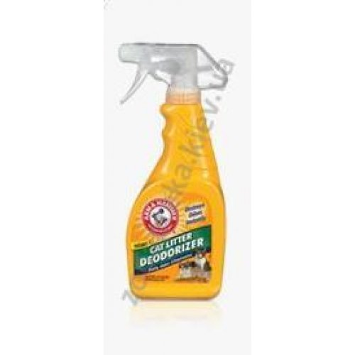 Arm & Hammer Cat Litter Deodorizer Spray - дезодорант-спрей Арм и Хаммер для кошачьего туалета