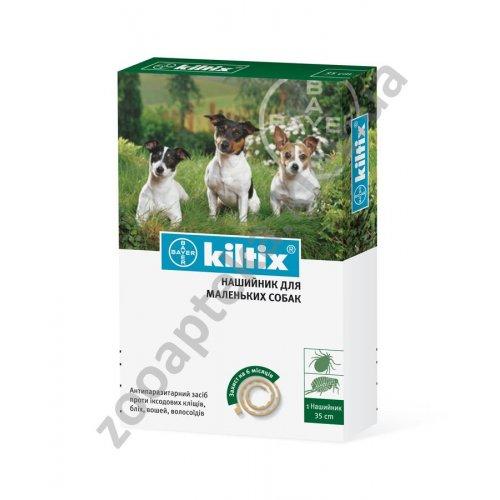 Bayer Kiltix - ошейник от блох и клещей Байер Килтикс для собак