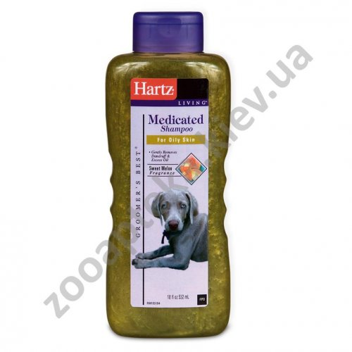 Hartz Medicated Shampoo - шампунь лечебный Хартц для собак