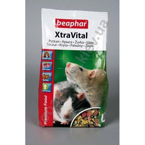 Beaphar Xtra Vital Rat Food - корм Бифар для декоративных крыс