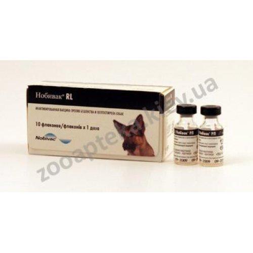 Intervet Nobi-Vac RL - вакцина Нобивак против лептоспироза и бешенства