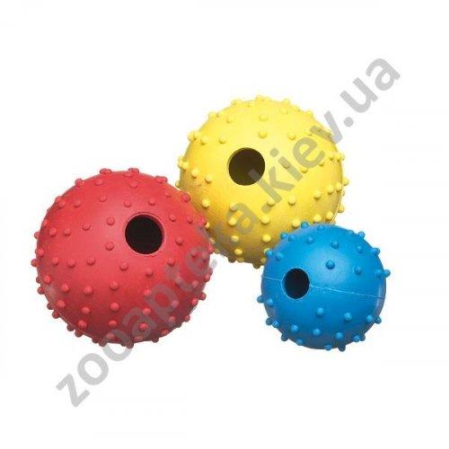 Camon - игрушка для собак Камон мяч резиновый с шипами и колокольчиком