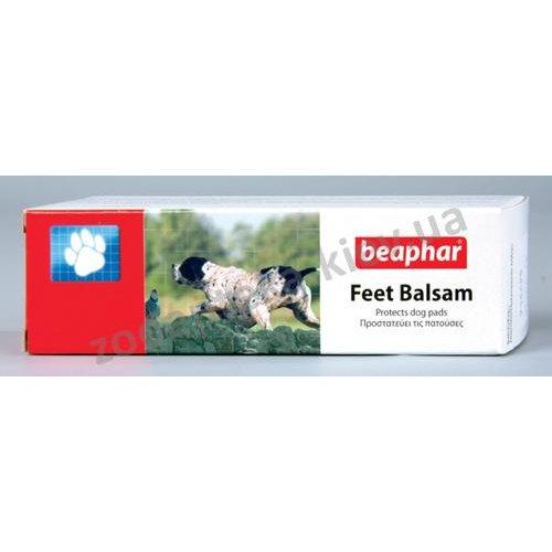 Beaphar Feetbalsam - защитная мазь Бифар для подушечек лап собак