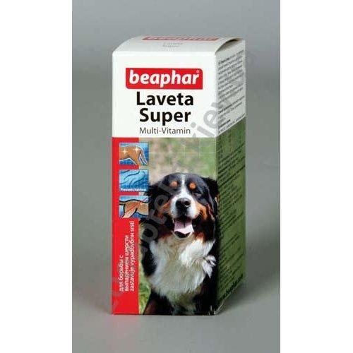 Beaphar Laveta Super For Dogs - Бифар Витамины для шерсти собакам