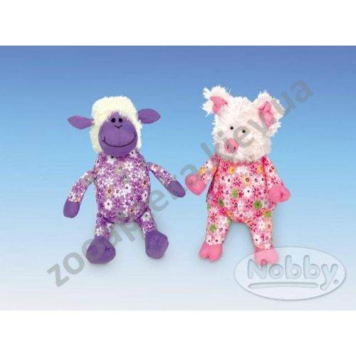 Nobby - игрушка Нобби Плюшевая овца и свинка