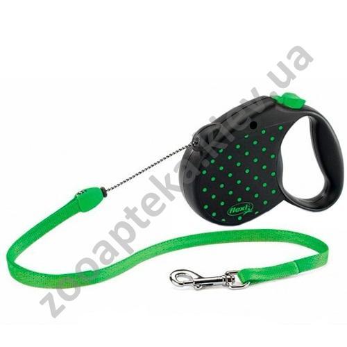 Flexi Color Medium - поводок-рулетка Флекси для собак весом до 20 кг