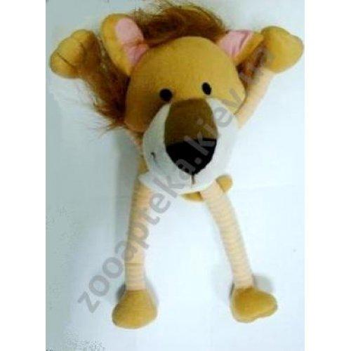 Hartz Bend Tug - мягкая игрушка Хартц Лев для собак