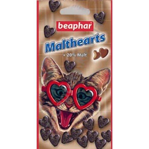 Beaphar Malthearts - лакомство Бифар для выведения шерсти из желудка для кошек