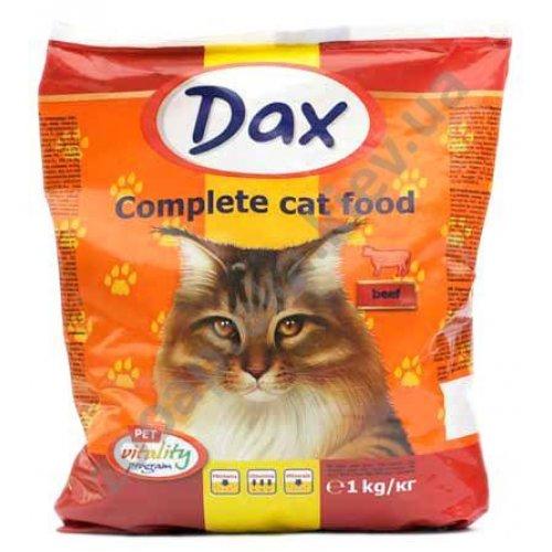 Dax - Сухой корм Дакс для кошек с говядиной и овощами