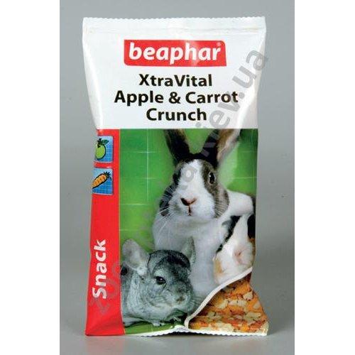 Beaphar Xtra Vital snack Apple & Carrot - вкусное и полезное лакомство Бифар для грызунов