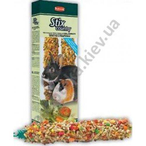 Padovan Stix Country - лакомые палочки Падован с овощами для кроликов и морских свинок