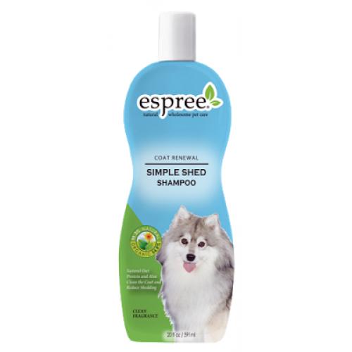 Espree Simple Shed Shampoo - шампунь Эспри с протеинами овса и алое