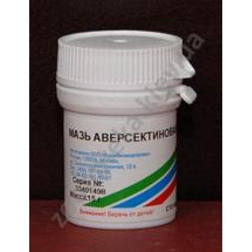 Мазь Аверсектиновая при акарозах и энтомозах