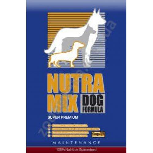 Nutra Mix Maintenance - корм Нутра Микс для взрослых собак со средней активностью (синяя)