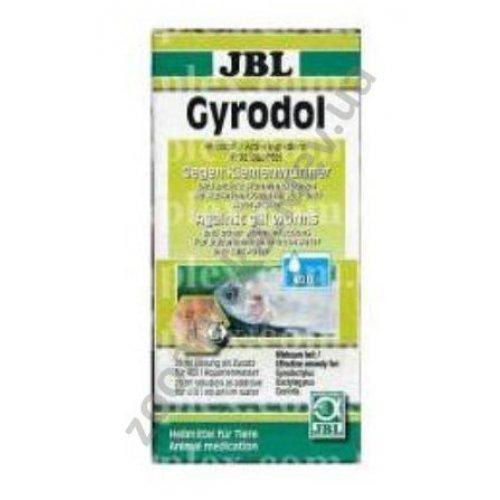 JBL Gyrodol Plus 250 - лекарство Гиродол Плюс от жаберных червей - дактилогирусов