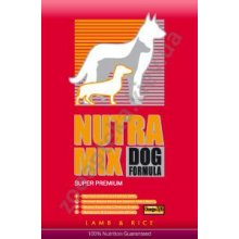 Nutra Mix Lamb & Rice - корм Нутра Микс гипоаллергенный с ягненком и рисом (красный)