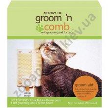 Sentry - угловая щетка для самогрумминга котов Сентри