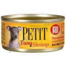 Petit Tuna & Shrimp - консервы Петит с тунцом и креветками