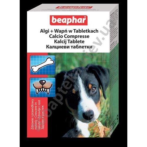Beaphar Calc Tab - минеральная пищевая добавка Бифар для собак