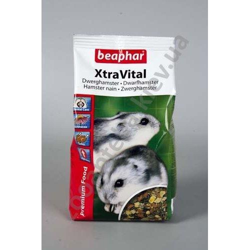 Beaphar Xtra Vital Dwarf Hamster Food - корм Бифар для карликовых хомячков