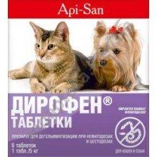 апи сан от глистов для собак отзывы