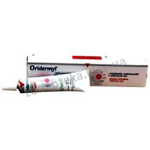 Bioveta Oridermil - гель для лечения ушей Оридермил