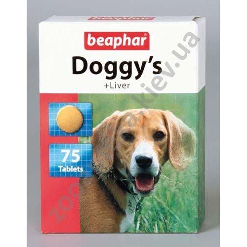 Beaphar Doggys Liver - витаминизированное лакомство Бифар со вкусом печени для собак