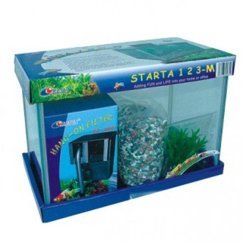 Resun Starta 123-M - аквариум Ресан, в комплекте