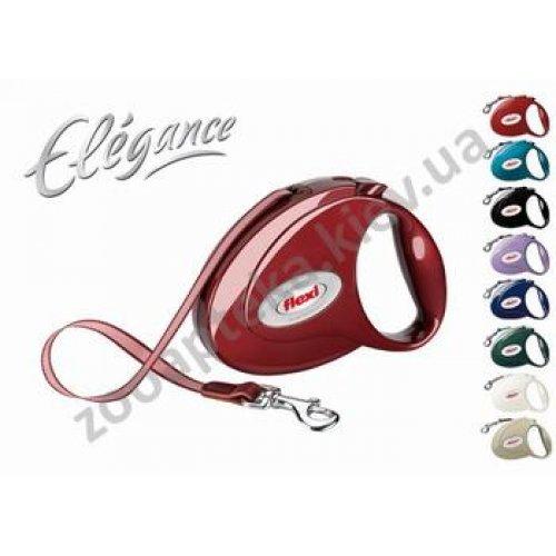 Flexi Elegance - рулетка Флекси красный-рубин для собак