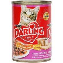 Darling - Корм Дарлинг для взрослых кошек с гусем и почками в соусе