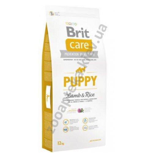 Brit Care Puppy All Breed Lamb & Rice - корм Брит для щенков и молодых собак всех пород