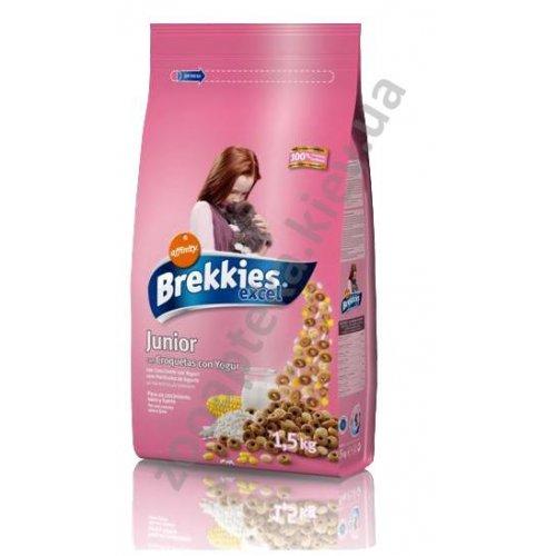 Brekkies Excel Junior Сat - корм Брекис для котят, а так же для беременных и кормящих кошек