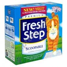 Fresh Step Scoopable Litter - комкующийся наполнитель Фреш степ без запаха