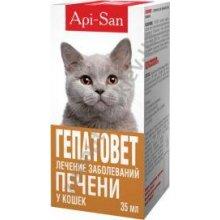Апи-Сан Гепатовет - гепатопротектор для кошек