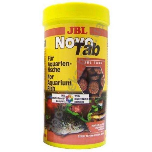 JBL Novo Tab - корм Джей Би Эл в виде таблеток для всех видов аквариумных рыб