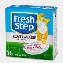 Fresh Step Extreme Odor Control - комкующийся наполнитель Фреш Степ на основе глины
